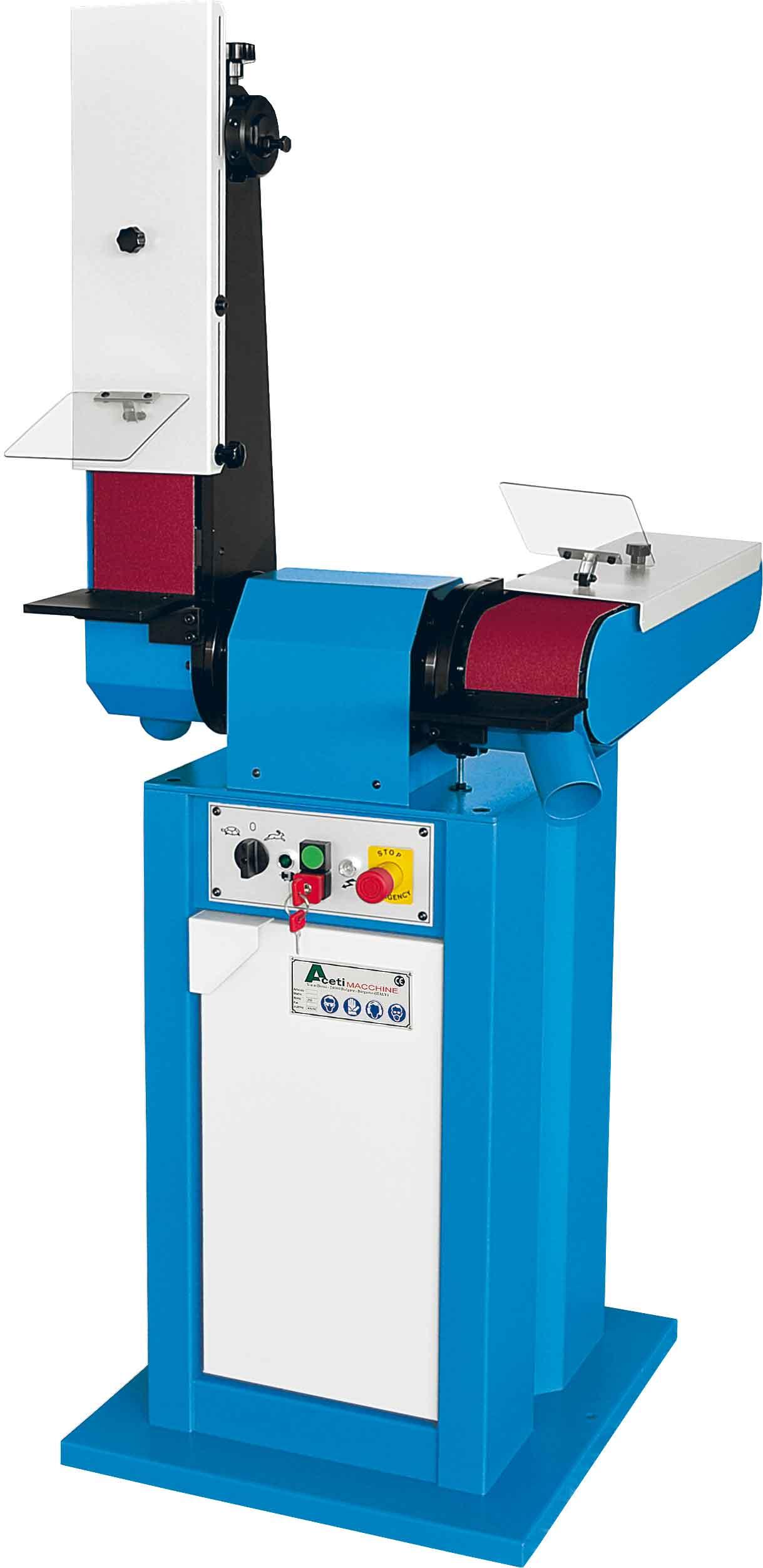 ART.08 - Belt grinding machine