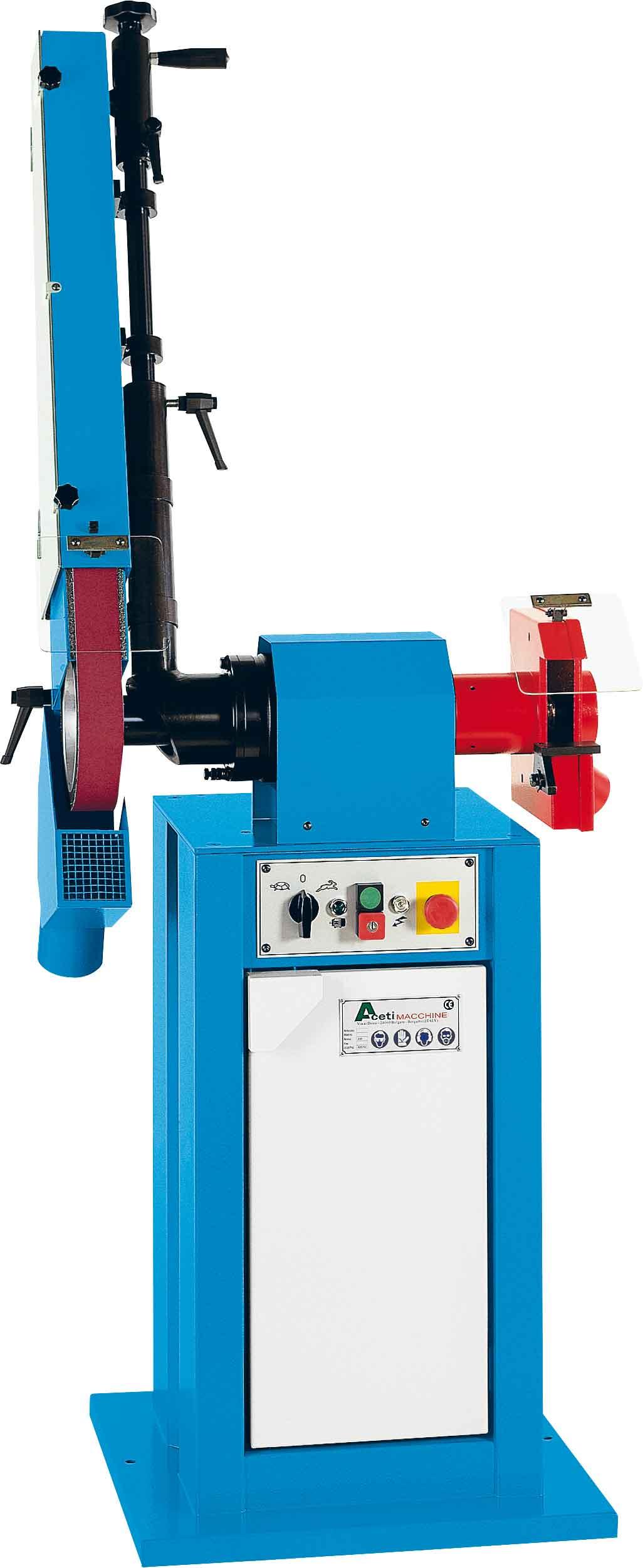 ART.34 - Belt grinding machine
