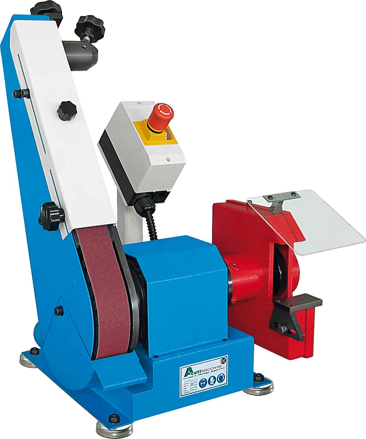 ART.136 - Belt grinding machine