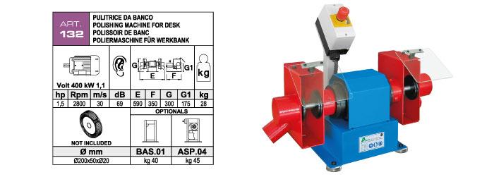 ART.132 - Polishing machine - st782