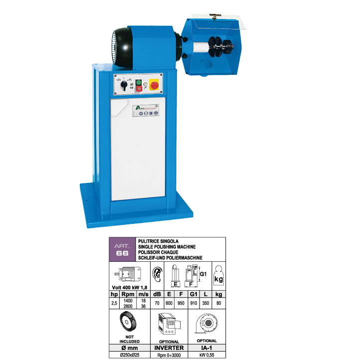 ART.66 - Polishing machine - st783