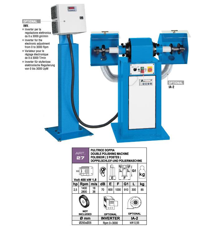 ART.27 - Polishing machine - st816