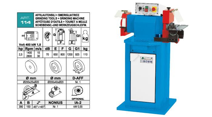ART.114 - Tools sharpening machine - st826