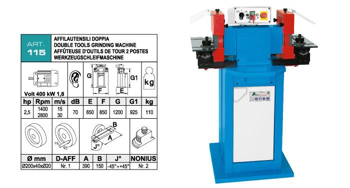 ART.115 - Tools sharpening machine - st827